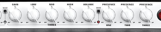 EVH 5150III のコントロール2