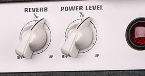 5150 III Comboに搭載のリバーブとパワーレベル・コントロール