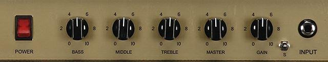 FRIEDMAN PINK TACO PT-20のコントロール