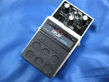 MaxonのDD-01デジタルディレイ