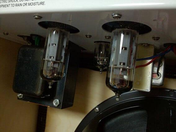 ZINKY Blue Velvetのパワーアンプ真空管