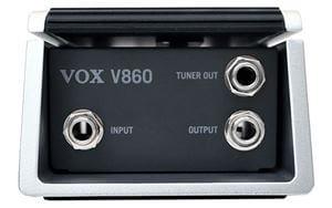 VOX V860ボリュームペダル 入出力