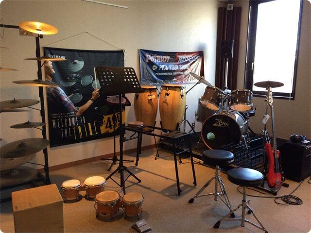サウンドハウスのドラムフロア