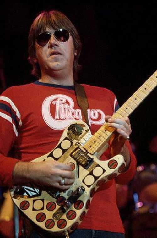 シカゴのギタリスト、テリー・キャス