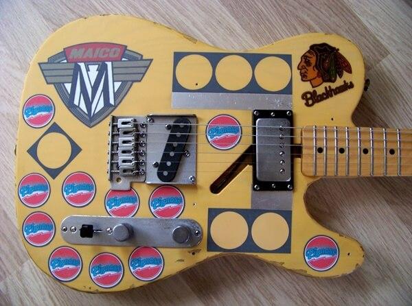 シカゴのギタリスト、テリー・キャスのテレキャスター