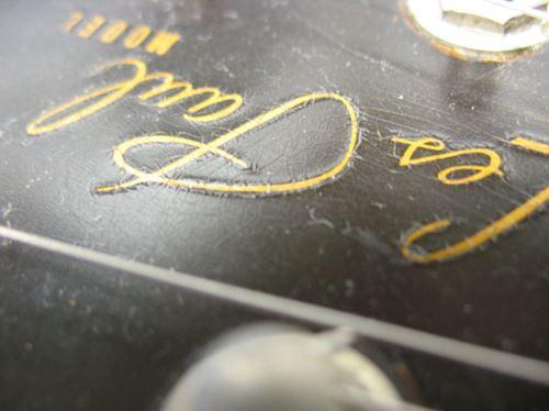 Gibson LesPaul Reissue(1988年製)ヘッドロゴ