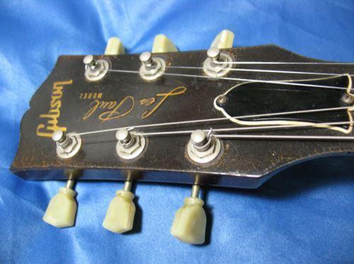 Gibson LesPaul Reissue(1988年製)のペグはロトマチックを採用