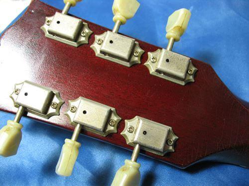 Gibson LesPaul Reissue(1988年製)ヘッド裏