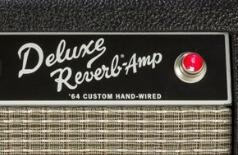 64 Custom Deluxe reverbのロゴ