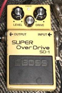 BOSS SD-1スーパーオーバードライブ