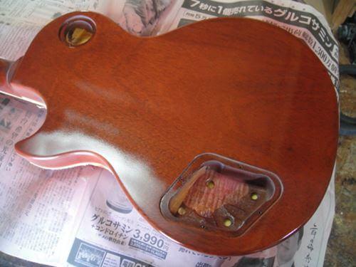 Gibson LesPaul Reissue(1988年製)の再塗装中2