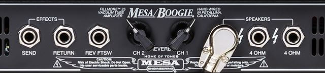 MESA BOOGIE Fillmore25バックパネル