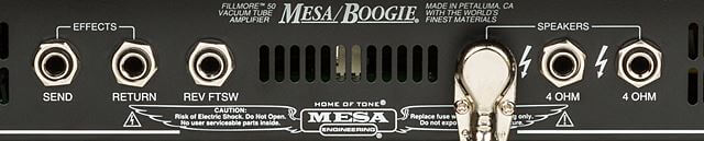 MESA BOOGIE Fillmore50バックパネル