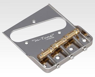 GOTOH BS-TC1Sはテレキャスター・プレーヤーならば即交換したくなる機能満載のブリッジ/サドル