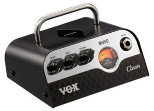 新しい小型真空管 Nutube 搭載の小さなアンプヘッド VOX MV50