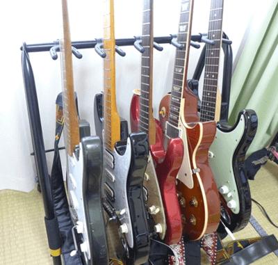 ギタースタンド5本用