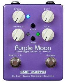 [CARL MARTIN Purple Moon] ファズとバイブが1つになったジミ・ヘンドリックスライクなペダル