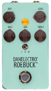 [Danelectro ROE-1 ROEBUCK] アンプライクなサウンドが素晴らしいディストーション!