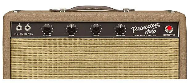 FENDER 62 PRINCETON CHRIS STAPLETON EDITION コントロールパネル