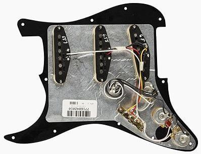 FENDER Pre-Wired Strat Pickguard Tex-Mex裏