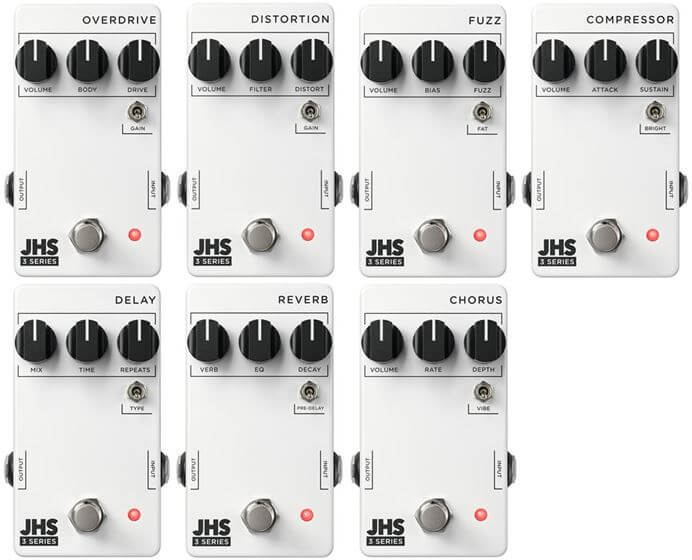 JHS Pedals 3 Seriesが発売