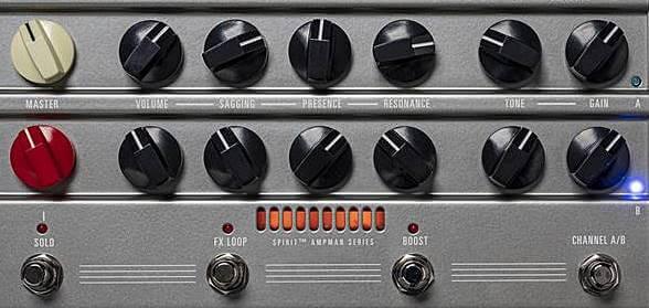 Hughes & Kettner AmpMan Classic & AmpManのコントロール