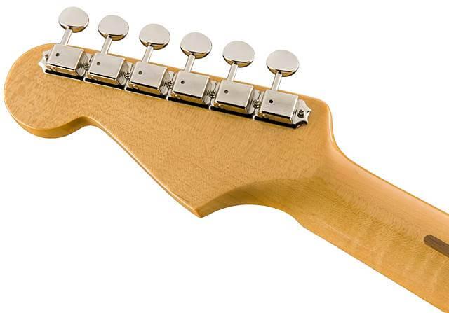 FENDER Eric Johnson Stratocasterのネックは柾目のみを採用
