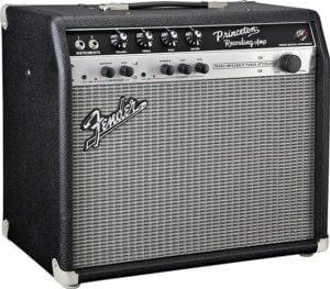 [懐かしの名機]アッテネーター、オーバードライブ搭載のチューブアンプ Fender Princeton Recording Amp