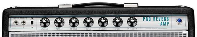 FENDER 68 CUSTOM PRO REVERB ( 40w )のコントロール