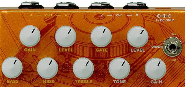 WAMPLER PEDALS Gearboxのコントロール