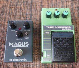 TC ELECTRONIC MAGUS PROとチューブスクリーマーTS10